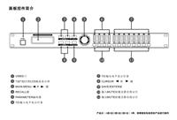 8X8音频处理器 公共广播系统