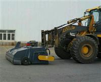 洗煤厂扫地机 工业路面扫地机 铲车封闭清扫器价格 装载机清扫器