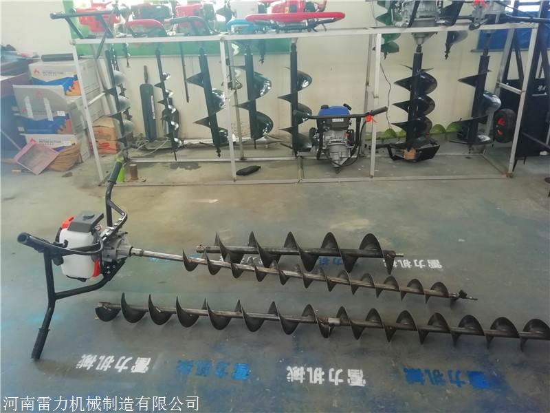 螺旋钻坑机地面打孔口径规格选取