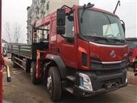 东风220马力小三轴徐工12吨随车吊生产厂家直销