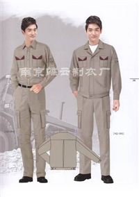 南京冬季工作服定做厂家  南京周边服装加工厂 蝶云制衣厂