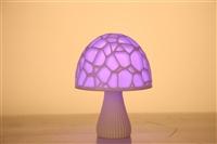 3D打印浪漫蘑菇燈  節日禮品