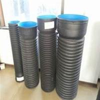 多图:洛阳市政排水PVC双壁波纹管厂家销售