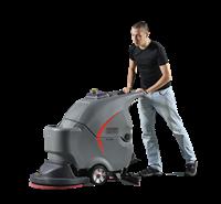 多功能洗地机环保耐用   大刷盘洗地机