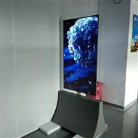 东莞惠华厂家直销55寸立式双面液晶显示广告标牌