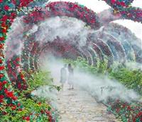 怒江州全自動造霧系統霧森造霧機環保工程