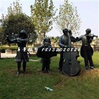 铜雕乐器雕塑摆件