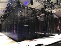 南通市展会冰屏透明屏出租 舞台背景板搭建电话