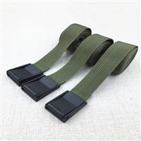 軍綠色塑膠壓扣綁帶 2.5CM壓扣綁帶 貨物捆綁帶 卡板綁帶 壓扣綁