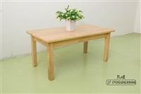 儿童桌椅 幼儿园全实木桌椅套餐