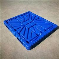 塑料托盘特点 双面平板塑料托盘价格 吹塑九脚托盘