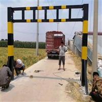 湖南郴州高度公路限高杆3米乡村道路限高杆价格