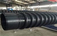 濟源地下管網PE纏繞結構壁B型管重視原材料