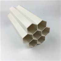 联塑穿线管 PVC七孔梅花管 塑料七孔蜂窝管 通讯电线套管