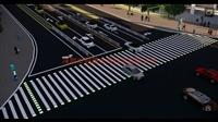 交通信号发光斑马线埋地灯