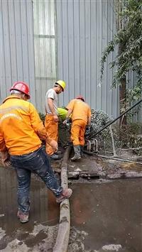 京唐港沉淀池清理,污水池清淤