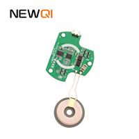PD无线充移动电源套件 PD无线充移动电源led灯 移动电源带线一体