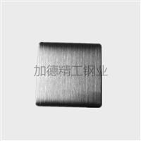 拉丝黑钛不锈钢板黑金哑光抗指纹