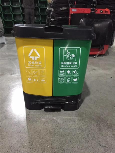 成都塑料垃圾桶 分类垃圾桶批发 环卫垃圾桶市场