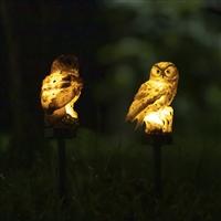 LED猫头鹰景观灯 户外庭院景区萌宠景观灯 草丛装饰景观灯