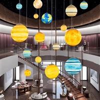 LED星球灯 空星吊球灯 创意简约防水PE圆球灯 户外装饰景观灯