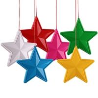 LED发光五角星星 树木装饰灯 户外防水亮化灯 节日装饰景观灯