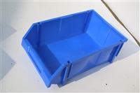 成都塑料零件盒 零件箱 组立式零件盒带立柱 背挂式零件盒