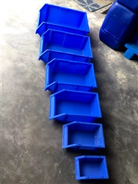 成都塑料零件盒 成都斜口零件盒供应