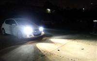 西安騏達改裝車燈升級海拉6透鏡歐司朗cbi氙氣燈套裝