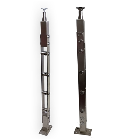 防锈家用不锈钢立柱价格