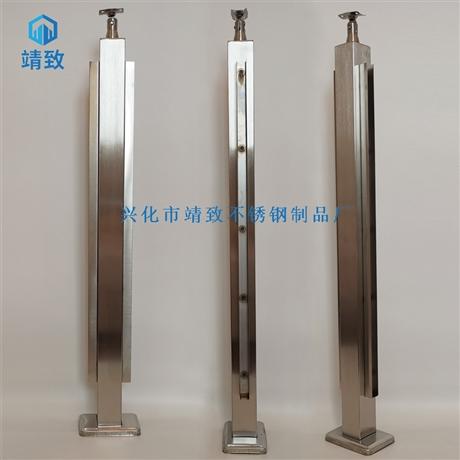*304不锈钢U型槽楼梯立柱