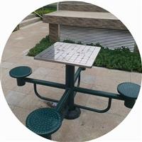 棋盘桌 公园小区室外健身器材象棋桌