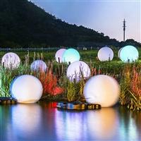 LED發光圓球燈 球形景觀燈 公園景區庭院草地草坪 亮化景觀燈