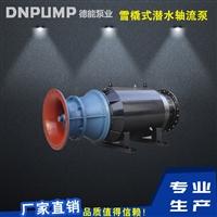 雪橇式潜水泵卧式安装德能厂家
