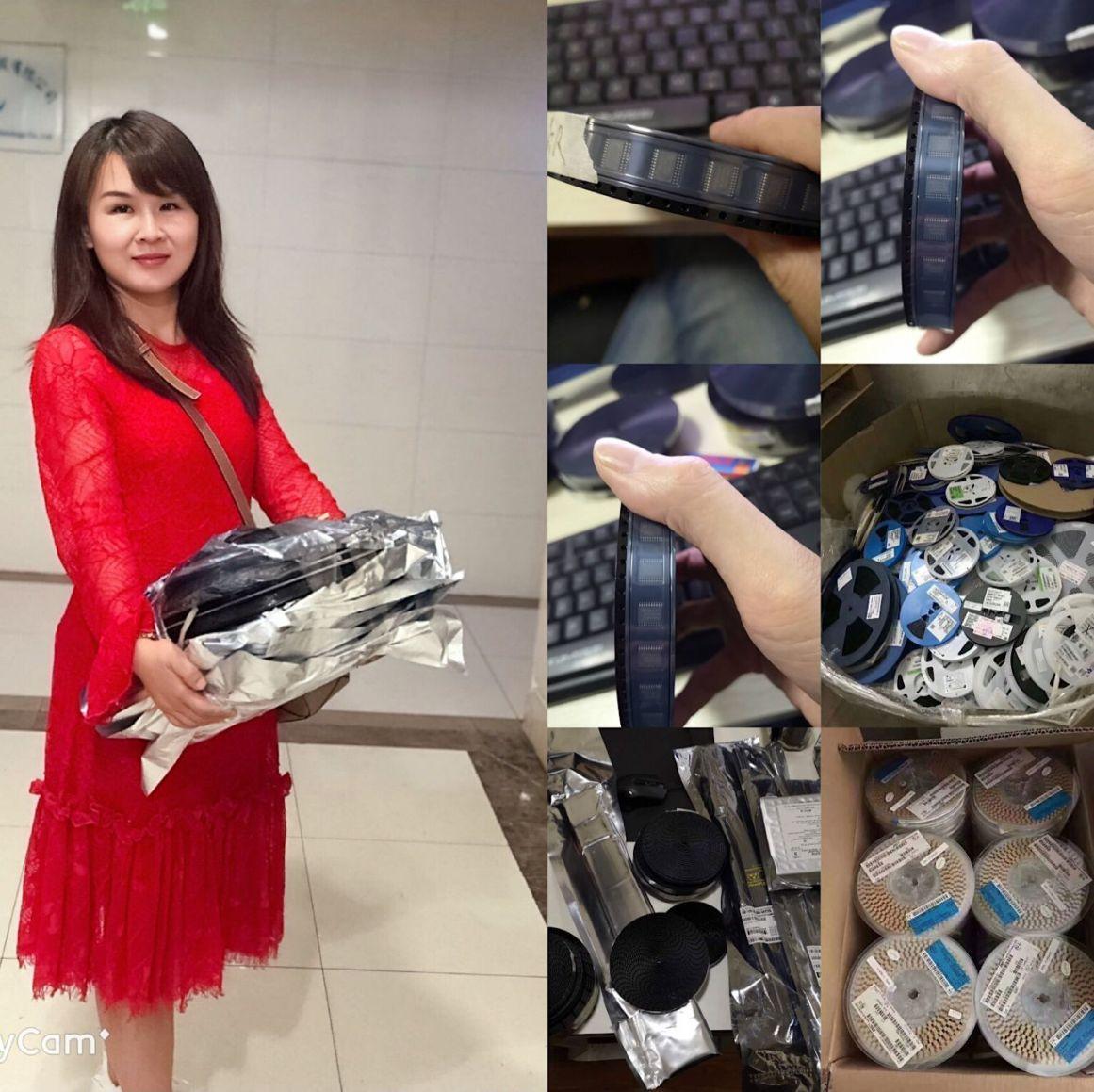 回收库存积压电子料回收电子元件