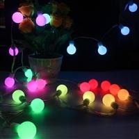 LED彩燈星星燈 閃燈串燈 燈帶圣誕酒吧裝飾燈 滿天星圓球燈