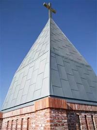 文昌市铝镁锰板厂家球形屋面0.8厚订做别墅群屋面批发价格