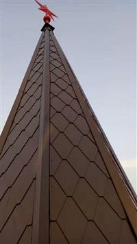 毕节地区铝镁锰板厂家氟碳铝合金订做别墅群屋面销售安装