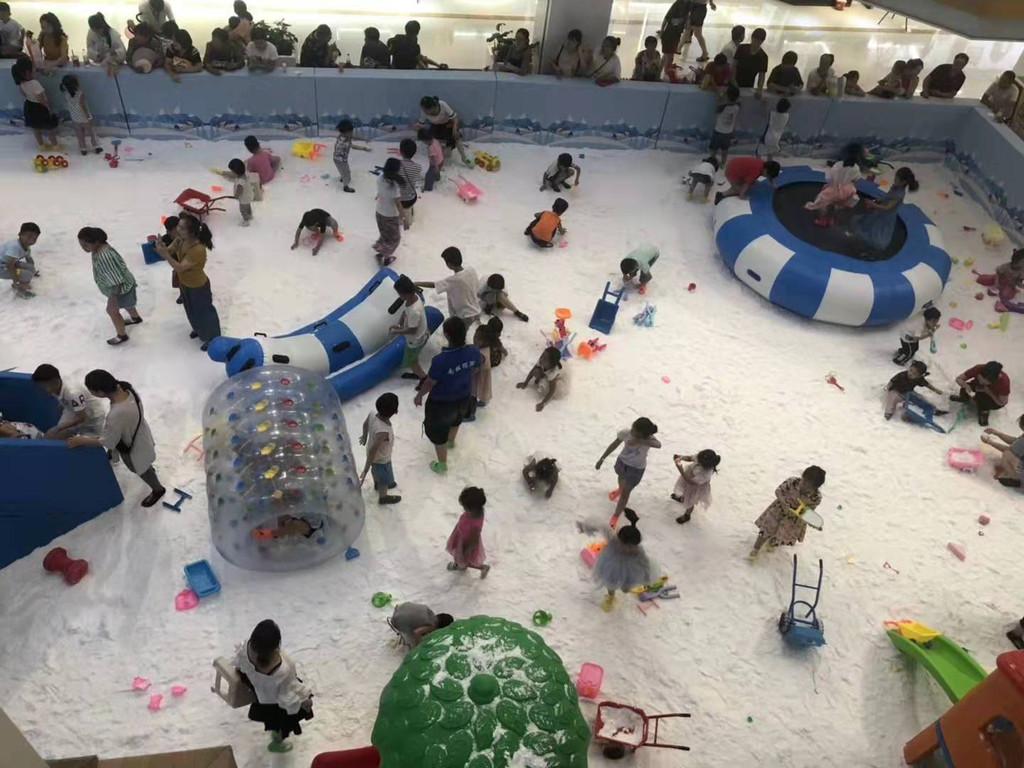 室内仿真雪人造雪儿童乐园加盟