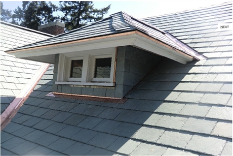 屋顶瓦 别墅坡屋瓦 天然蘑菇石 板岩蘑菇石 石材蘑菇天然板岩
