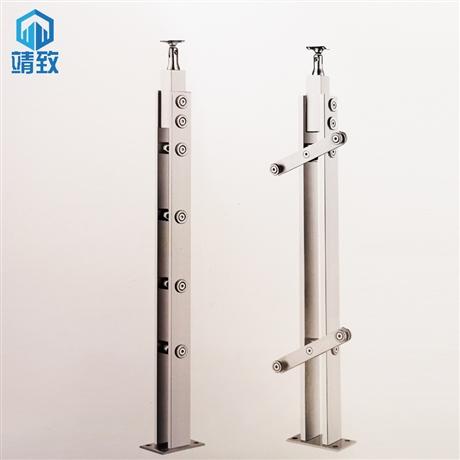 非标不锈钢玻璃立柱定制