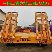 重磅消息 12米低平板拖掛車 價格上漲 平板式挖掘機運輸車 公告