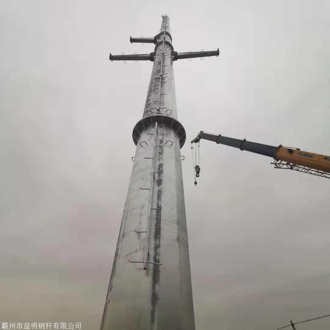 10kv鋼管桿型號 鋼管桿制造電力鋼管桿基礎