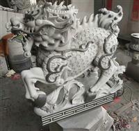 供應石雕麒麟 青石石雕貔貅 門口擺放神獸麒麟 福建石雕動物