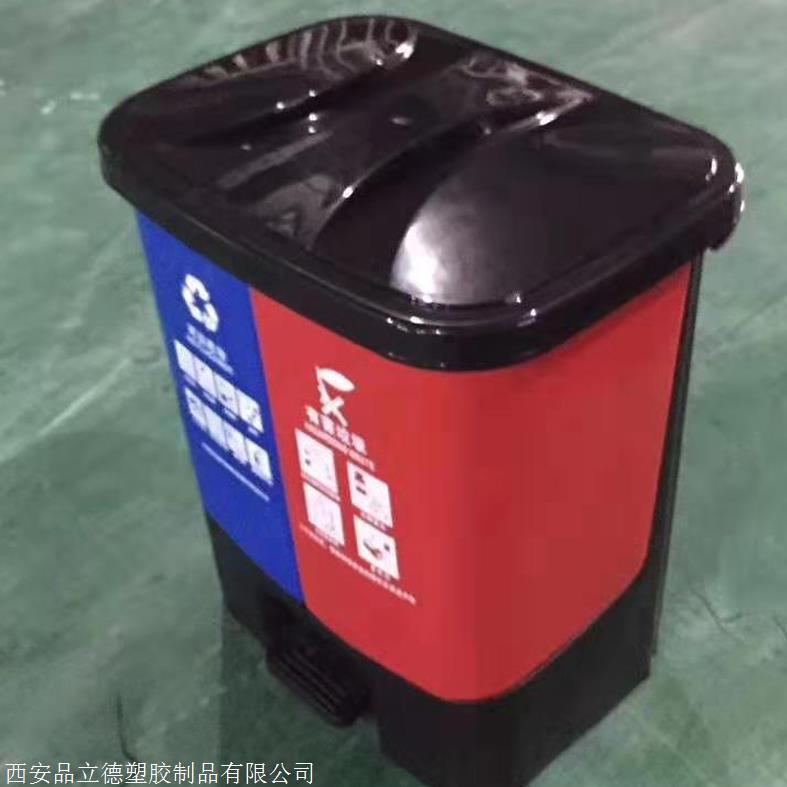 西安塑料环卫垃圾桶塑料网格托盘厂家现货供应
