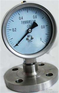 隔膜压力表价格