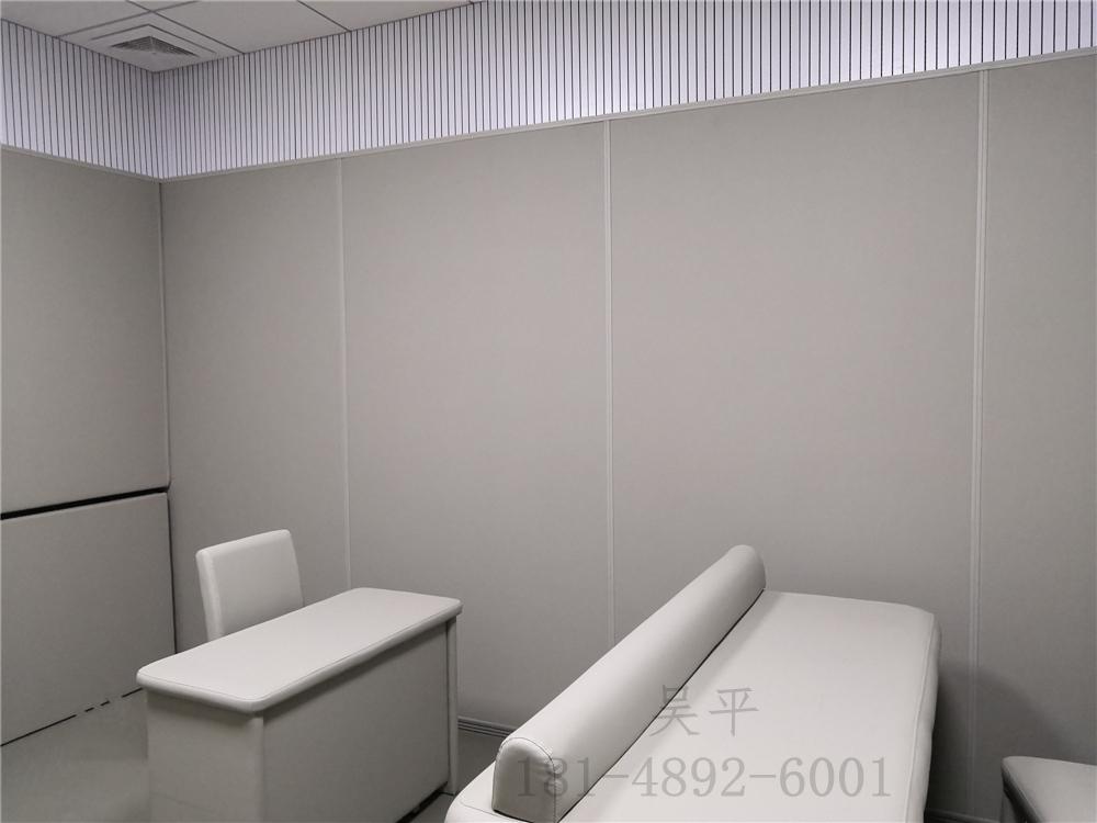 纪检委留置室软包纳米棉基材 墙面阻燃、抗撞击、隔音