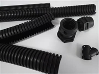 出售开平布线用25.8全程开口式尼龙软管阻燃防水