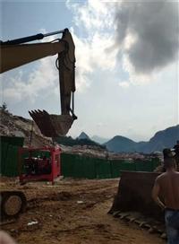 采石场炸药批不下来怎么开采石头泰安-愚公斧劈裂机厂家