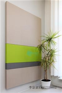 格麗室廠家直供 PET聚酯纖維吸音硬包辦公室裝飾